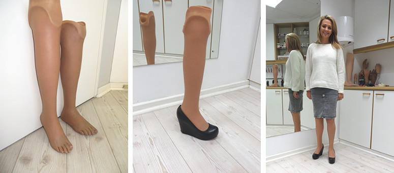 Prosthesis for high heels