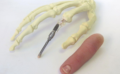 how to make silicone finger prosthesis