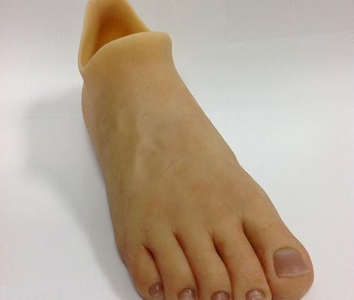 Proteza stopy silikonowej